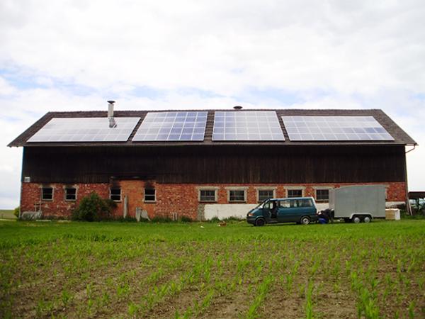 Schöne 30KW Anlage mit Modulen von Schott-Solar.