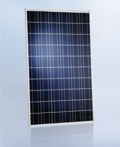 Poly kirstallines Modul aus dem hause Schott Solar.