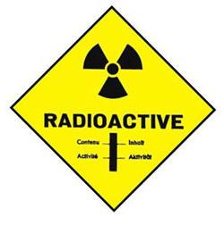 gefährliche Radioaktivität