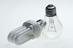 Alternative zur Glühbirne - die Energiesparlampe